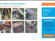 Webdevelopment Betonboringen Zeeland2
