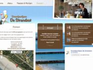 Website Ontwikkeling Strandpaviljoen De Strandzot Zoutelande Zeeland