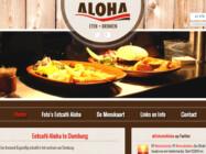 Website Ontwikkeling Eetcafe Aloha Domburg