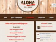 Website Ontwikkeling Eetcafe Aloha Domburg1