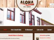 Website Ontwikkeling Eetcafe Aloha Domburg2