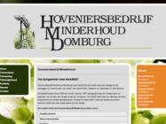 Website Ontwikkeling Hoveniersbedrijf Minderhoud Domburg1