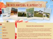 Website Ontwikkeling Minicamping Klaproosje