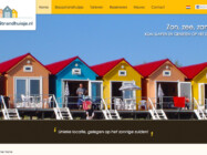 Slaapstrandhuisje Website Ontwikkeling