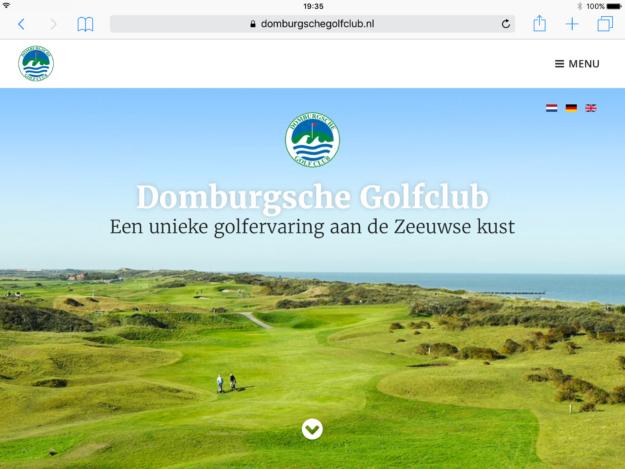 Webdesign Zeeland Internetbureau Domburgsche Ipad