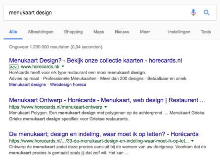 Internetbureau Zeeland Horecards Webdesign